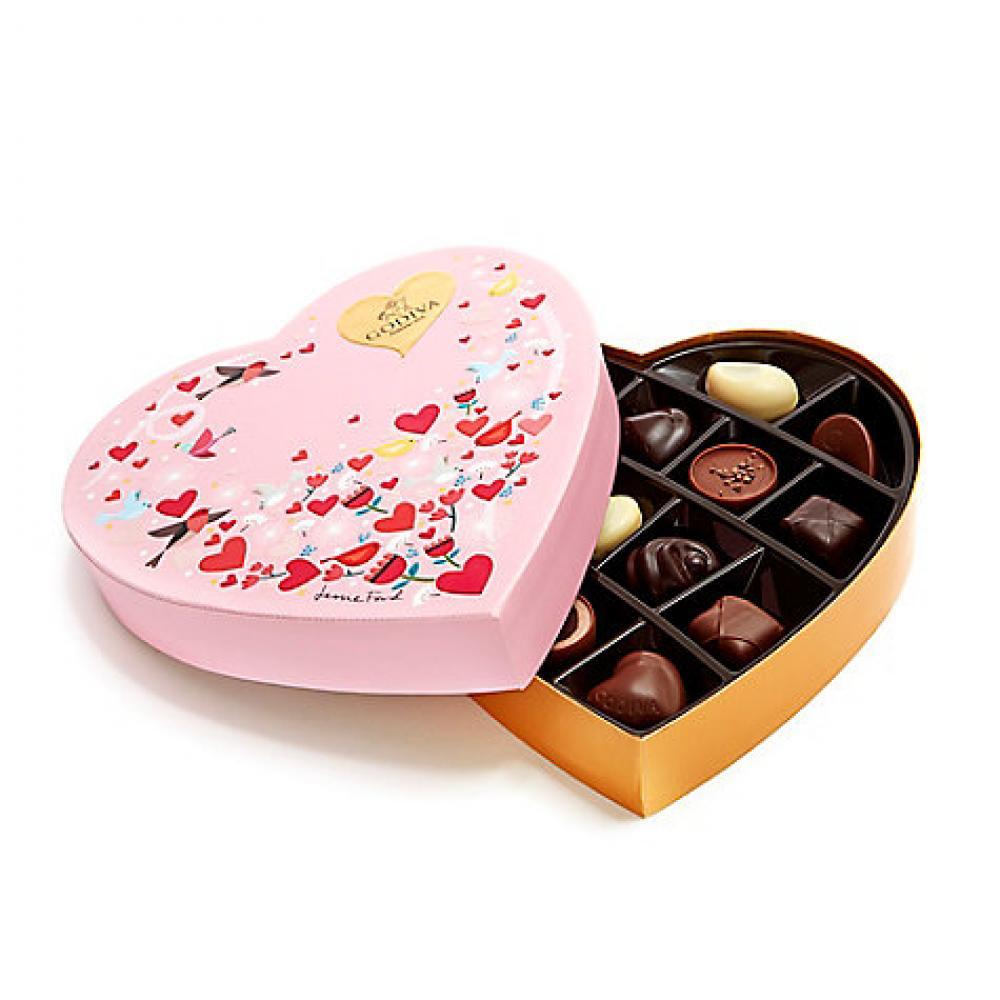 Godiva Heart Shaped Chocolate Gift Box 165 g